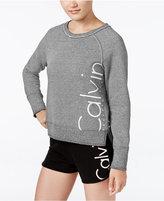Calvin Klein Ribbed Logo Sweatshirt