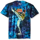 Liquid Blue Unisex-Adults Bowie David Kick Tie Dye Short Sleeve T-Shirt