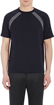 Barneys New York MEN'S RAGLAN-SLEEVE T-SHIRT-NAVY SIZE XL