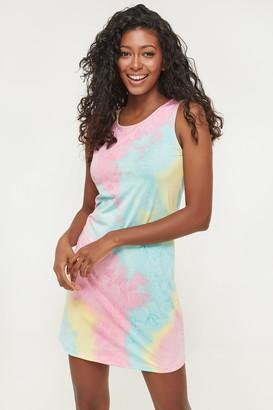 Ardene Tie-dye Mini Dress