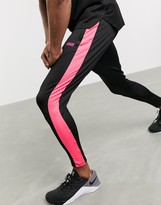 Asos 4505 4505 super skinny training jogger with side stripe
