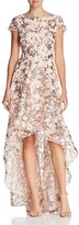 Eliza J Women's High-Low Gown with Scoop Back