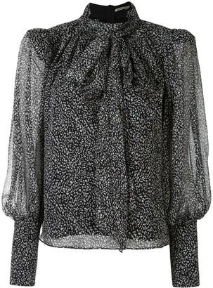 Thurley Coco animal-print blouse