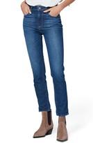 Paige Vintage Sarah High Waist Ankle Slim Straight Leg Jeans
