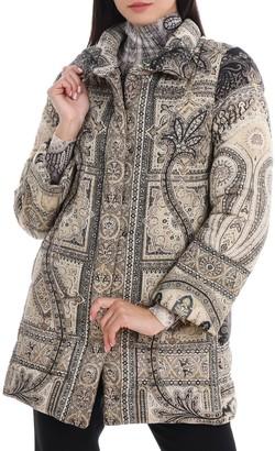 Etro Paisley Padded Coat