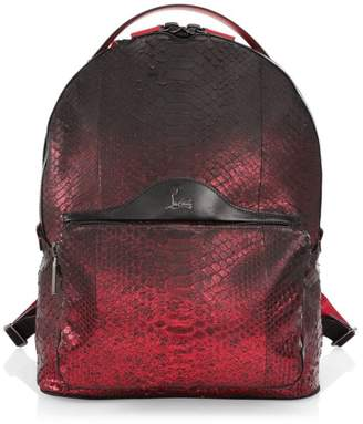 Christian Louboutin Backloubi Python Degrade Backpack