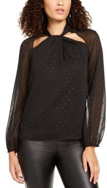 Thalia Sodi Twist-Neck Top, Created for Macy's