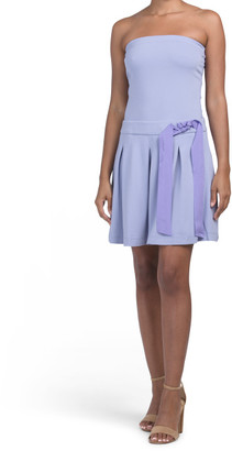Sleeveless Bow Dress
