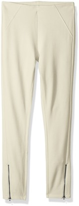 Hue Women's Ankle Zip Simply Stretch Twill Skimmer Leggings