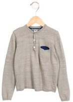 Bonpoint Boys' Long Sleeve Crew Neck Shirt