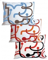 Pin It NotNeutral Letters Pillows
