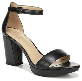 Naturalizer Fields Leather Ankle Strap Sandal - Wide Width Available