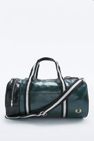 Fred Perry Classic Bottle Green Barrel Bag