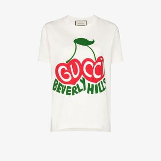 Gucci Beverly Hills cherry-print T-shirt