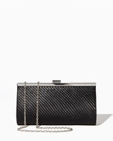 Charming charlie Pleated Pretty Evening Clutch