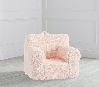 Pottery Barn Kids My First Blush Cozy Sherpa Anywhere Chair Slipcover Only