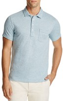 Billy Reid Patterson Stripe Slim Fit Polo Shirt