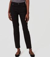 LOFT Petite Curvy Skinny Jeans in Black