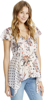 Motherhood Jessica Simpson Trapeze Maternity Top
