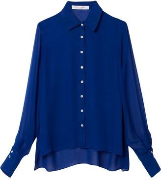 Carolina Herrera Silk-Chiffon Shirt