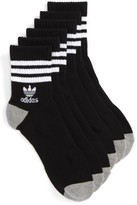 adidas Men's 3-Pack Quarter Crew Socks
