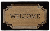 "Threshold Welcome Estate Rubber & Coir Doormat (1'7""x2'7"