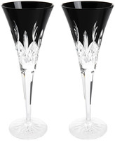 Waterford Lismore Black Champagne Flute - Set of 2
