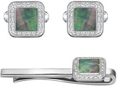 Swarovski Effect Square Set