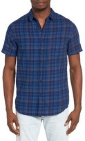 Quiksilver Men's Phaser Set Plaid Shirt