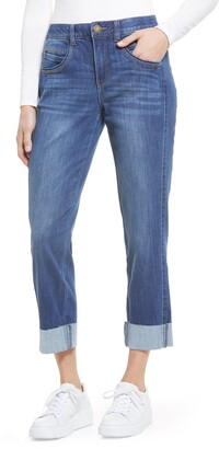 Wit & Wisdom Ab-Solution High Waist Ankle Straight Leg Jeans