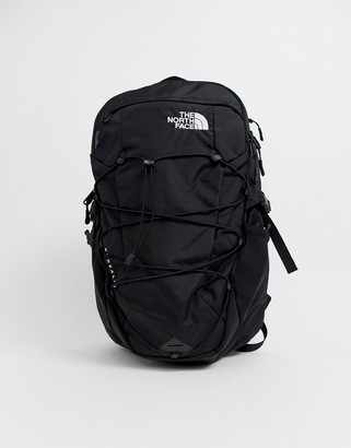 The North Face Borealis backpack in black