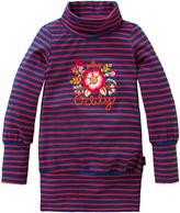 Oilily Blue & Orange Stripe Try Top - Toddler & Girls
