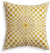 """Crate & Barrel Molly 20"""" Pillow with Down-Alternative Insert"""