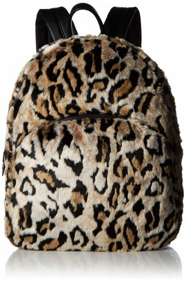Betsey Johnson Faux Fur Backpack