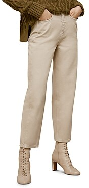 Whistles High-Waist Barrel Leg Jeans