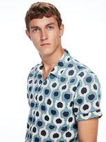 Scotch & Soda All-Over Printed Hawaii Collar Shirt