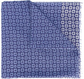 Corneliani printed scarf - men - Cotton/Silk - One Size