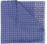 Corneliani printed scarf - men - Silk/Cotton - One Size