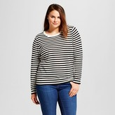 Who What Wear Women's Plus Size Perfect Crew