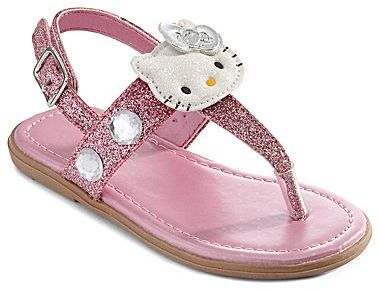 Hello Kitty Lil Jewell Girls Sandals - Toddler