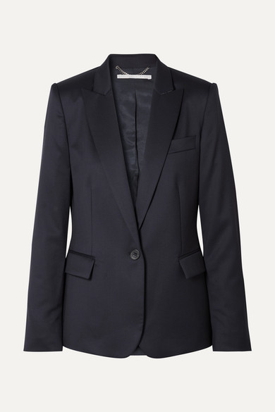 Stella McCartney Ingrid Wool Blazer - Navy