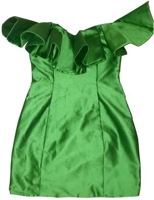 ATTICO Green Cotton Dresses