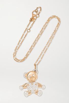 Pomellato Orsetto Large 18-karat Rose Gold Diamond Pendant - one size