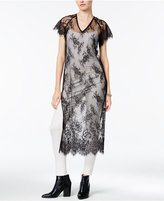 Bar III Lace Tunic, Only at Macy's