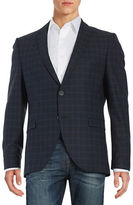 Selected Plaid Two-Button Jacket