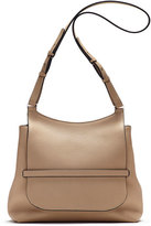 The Row Sideby Pebbled Calfskin Crossbody Bag, Beige