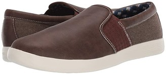 Ben Sherman Parnell Gingham Slip-On (Black) Men's Shoes