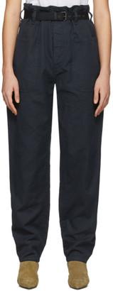 Etoile Isabel Marant Black Rinny Trousers