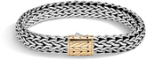 John Hardy Men's Classic Chain 11MM Bracelet in Sterling Silver and 18K Gold