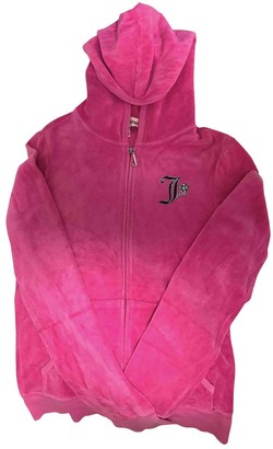 Juicy Couture Pink Velvet Jacket for Women